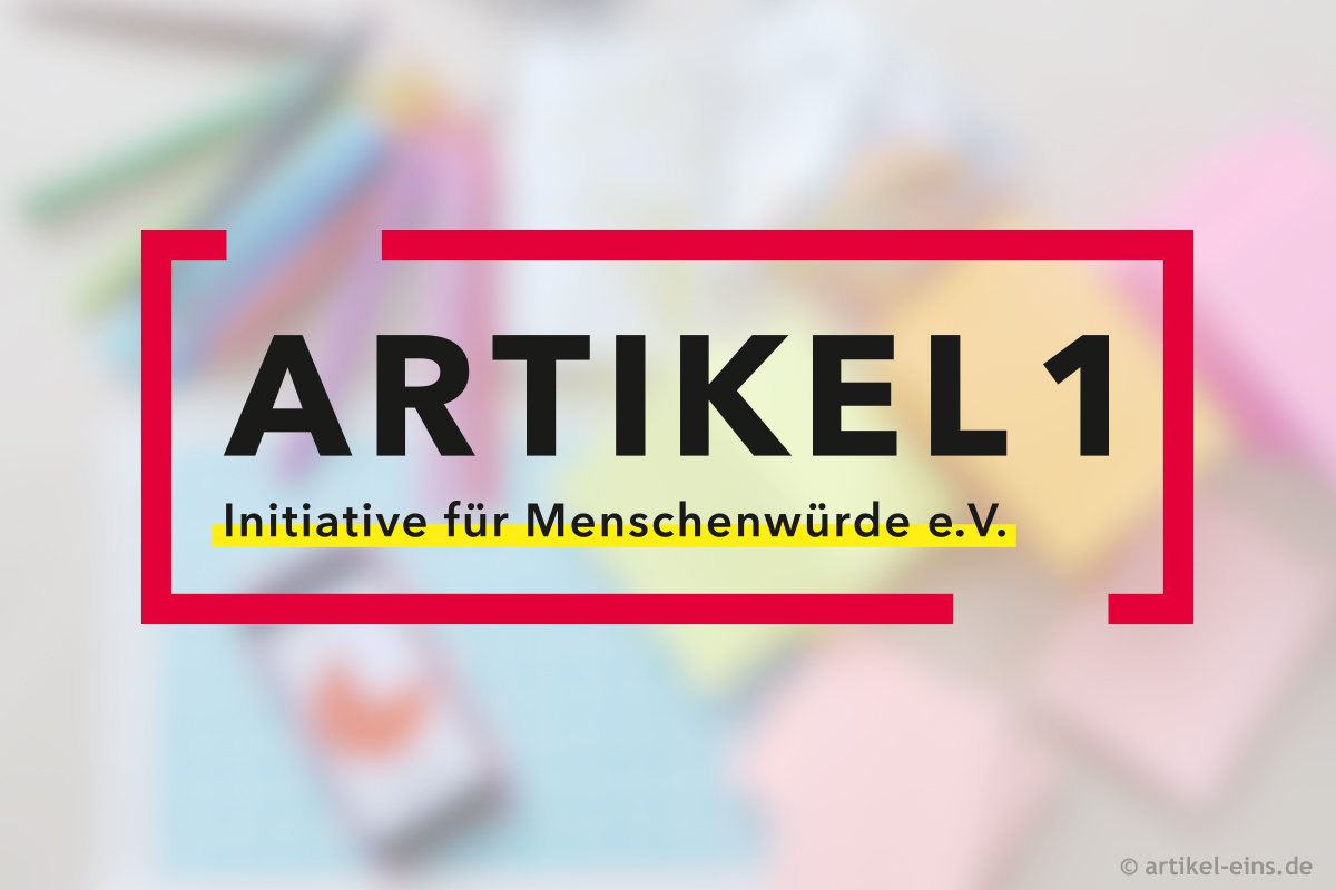 Logo Artikel 1 – Initiative für Menschenwürde e.V.