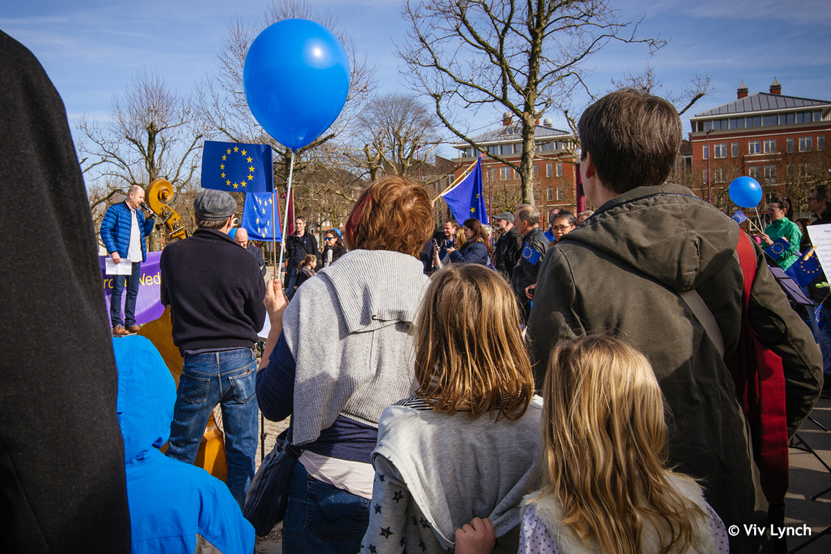 Pulse of Europe Rally © Viv Lynch
