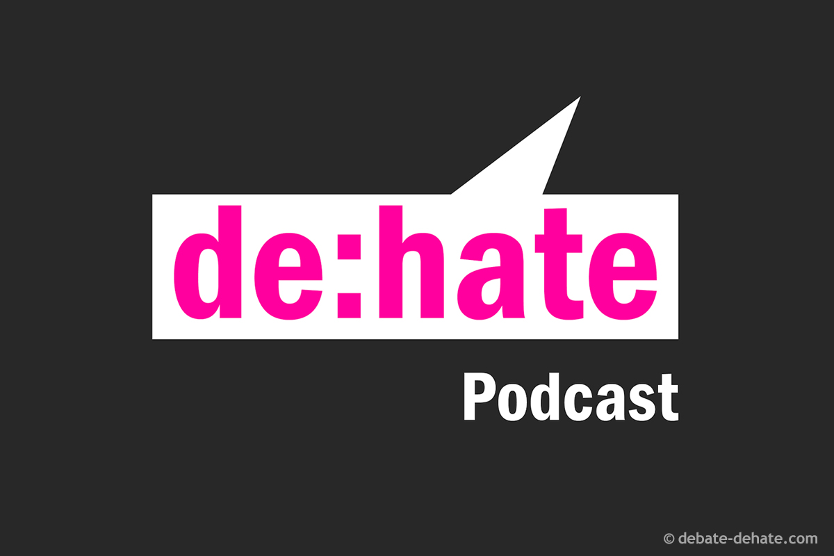 Logo de:hate Podcast