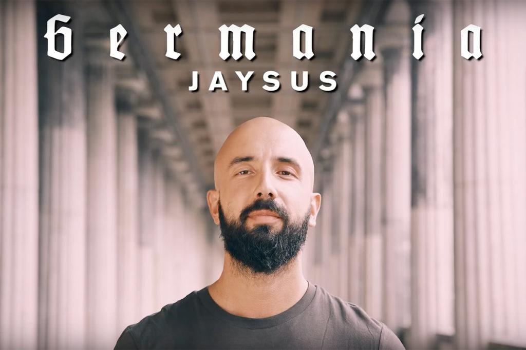 "Rapper Jaysus im Intro des ""Germania""-Videos"
